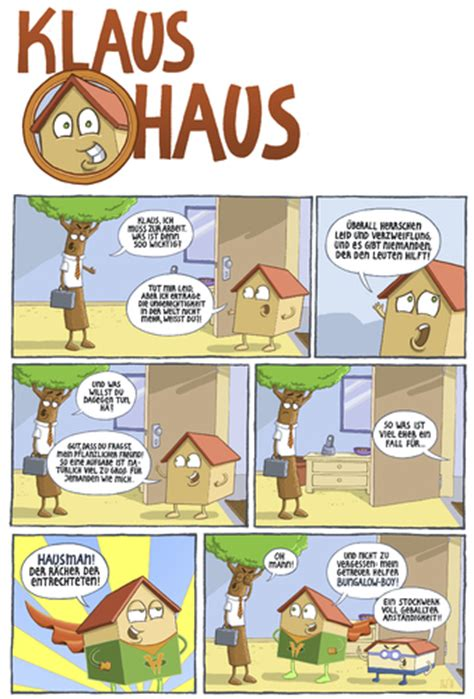 wohnung comic klaus haus by tobias wieland media culture