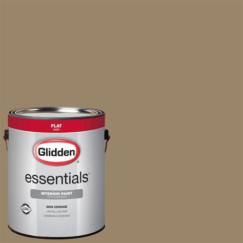 glidden essentials 1 gal hdgwn34 legacy gold flat interior paint hdgwn34e 01fn the home