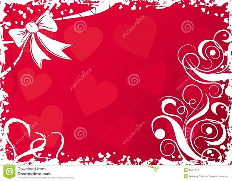 imagenes vectores san valentin fondo con los corazones vector de las tarjetas del d 237 a de