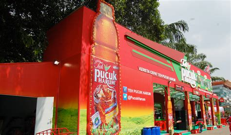 Teh Pucuk Harum mayora stay fresh with teh pucuk harum in jakarta fair prj