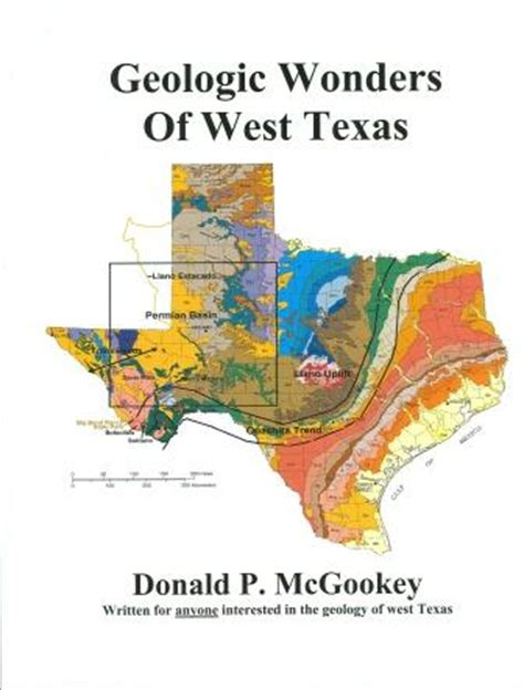 geology of texas map geology big bend history association