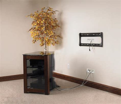 Baseboard Height how to wall mount your flat panel tv