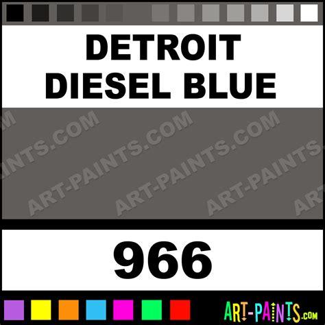 spray paint detroit detroit diesel blue engine coatings spray paints 966
