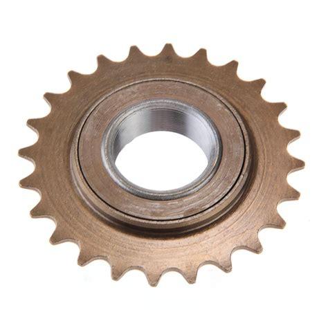 aliexpress buy bmx bike bicycle 24t tooth singlespeed freewheel sprocket brown from