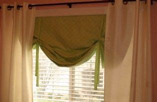 tie up curtain tutorial 1000 images about becky s bedroom window shade on pinterest