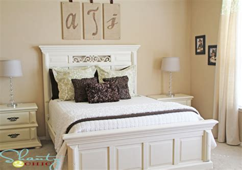 White Painted Bedroom Furniture Painting Bedroom Furniture Shanty 2 Chic