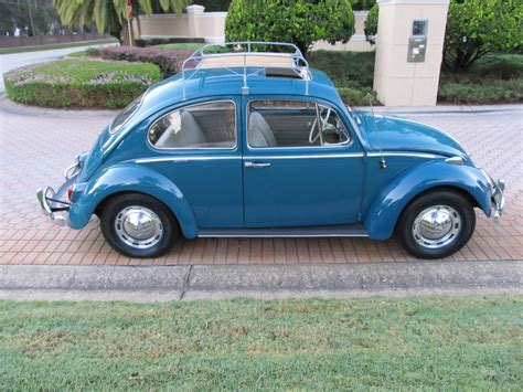 volkswagen beetle 1965 1965 volkswagen beetle sunroof model sold vantage