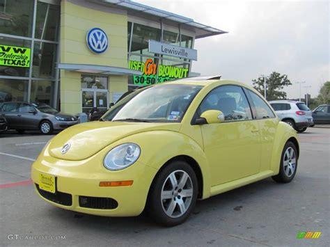 2006 yellow volkswagen beetle 2006 sunflower yellow volkswagen new beetle tdi coupe