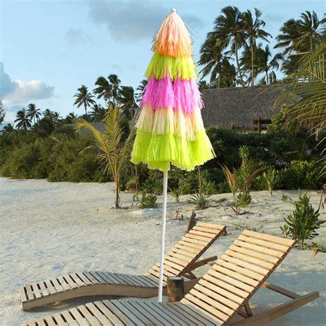 Hawaiian Parasol Beach Garden Patio Sunshade Sun Umbrella