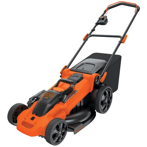 black decker mower shop black decker 40 volt max lithium ion li ion 20 in