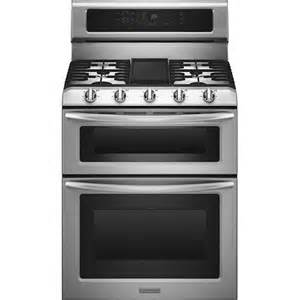 Kitchenaid Gas Range Reviews Kitchenaid 30 Quot Selfcleaning Freestanding Oven Gas