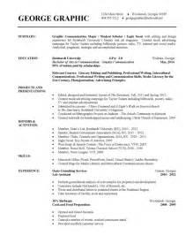 graphic designer resume exles resume exles documents
