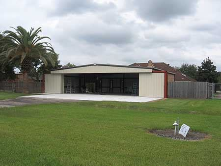 houston custom metal buildings steel buildings