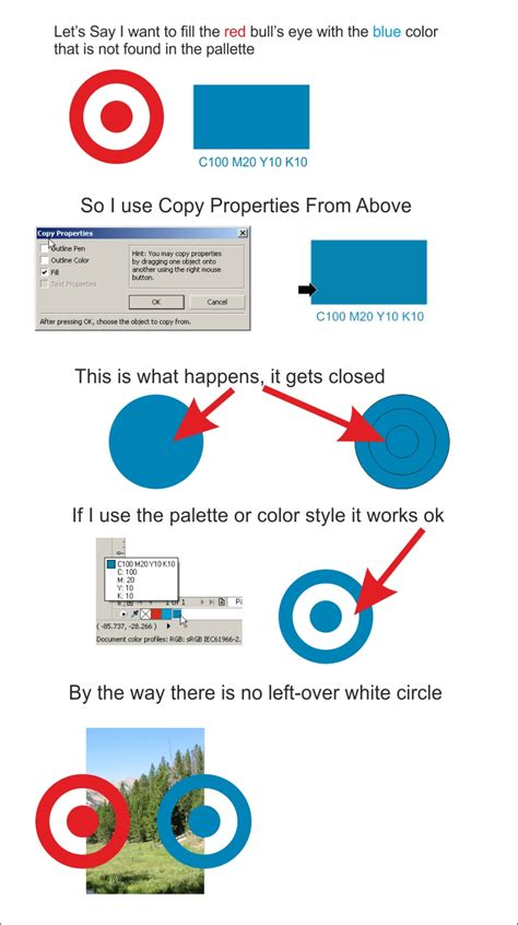 corel draw x7 offline update corel draw x6 x7 both closes curves when copying color