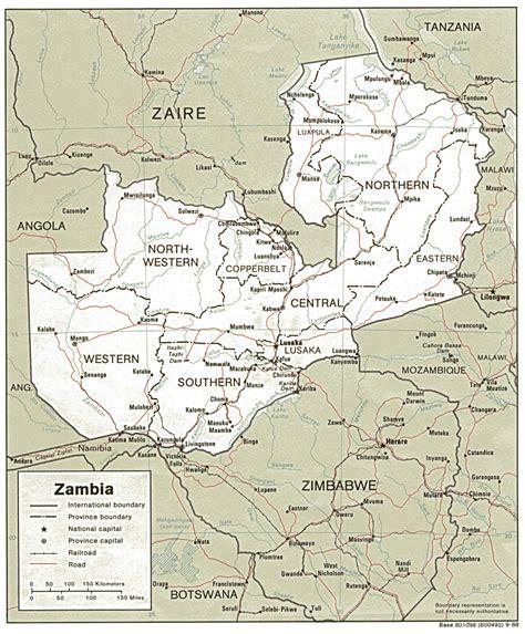 zambia maps