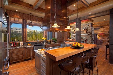 kitchen view kitchen with a view yellowstone club big sky mt