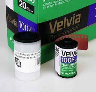 Fujifilm Velvia 100 Roll 36 fujichrome velvia 100f 100 iso 35mm x 36 exp rvp 100f