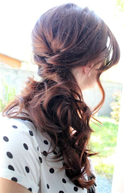 diy races hairstyles 25 best ideas about side ponytail hairstyles on pinterest