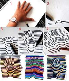 how to draw a 3d hand how to make 3d hand drawing