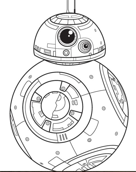 bb8 star wars coloring pages coloring pages