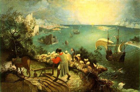 pieter bruegel file bruegel pieter de oude de val van icarus hi res jpg wikimedia commons