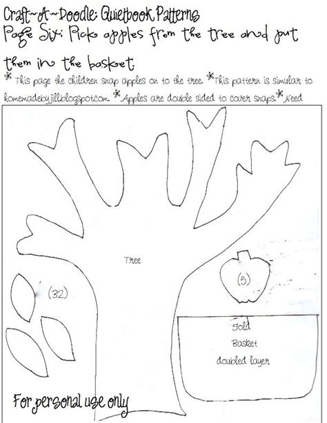 templates for quiet book pages craftadoodle quiet book page 6 and printable patterns