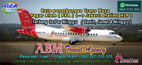 Minyak Kutus Kutus Palembang pesawat trans nusa jakarta pagar alam abbysoftmelayani