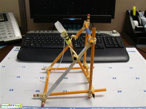 Handmade Catapult - simple diy catapult
