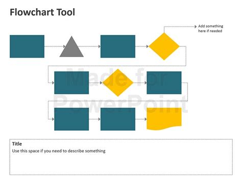 flowchart tools flowchart tool editable powerpoint template