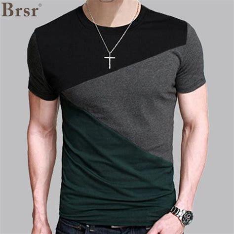 guitar blue pattern style men s clothing t shirts s m l xl 6 designs mens t shirt slim fit crew neck t shirt men