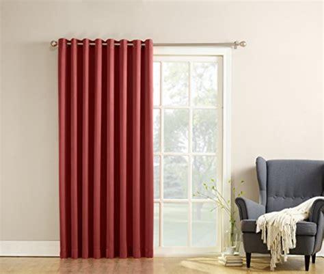 extra wide curtains for patio doors sun zero barrow extra wide energy efficient grommet patio
