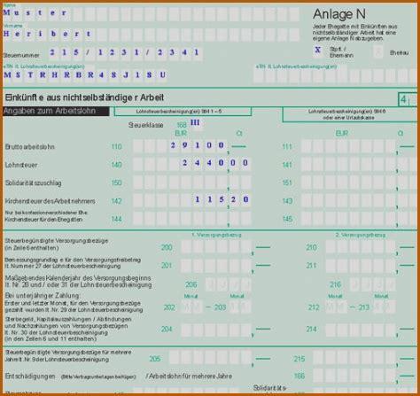 formular steuererklarung vorlagen vorlagen