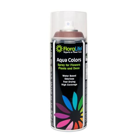 400ml oasis water based floralife 174 aqua color spray paint all colours ebay