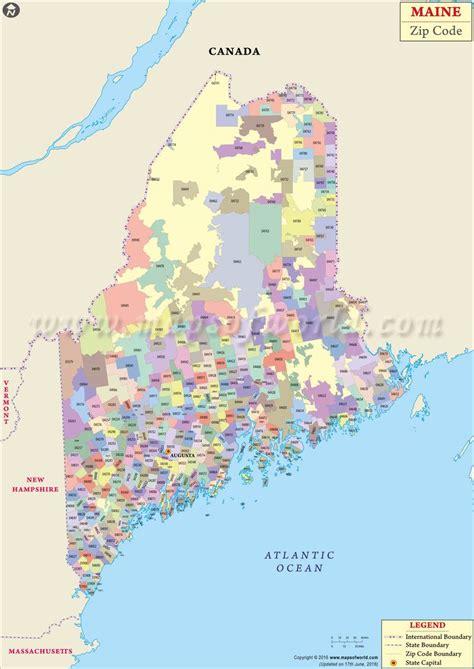 maps maine usa maine zip code map maine postal code