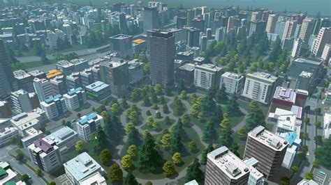 Office Zone Cities Skylines Cities Skylines Review Gaming Nexus