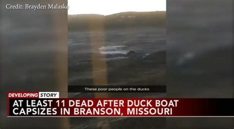 duck boat ky3 11 dead in missouri when duck boat capsizes vid the