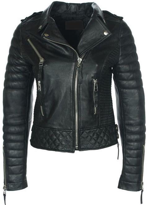 chaquetas en cuero chaqueta en cuero mujer black marca la chaqueter 205 a