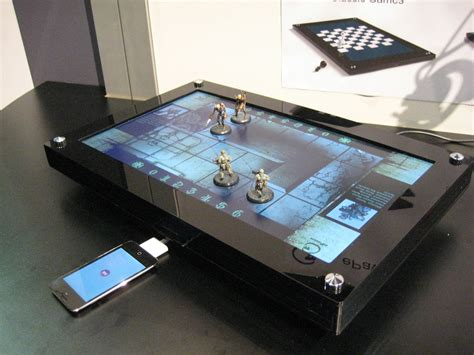 board gaming table digital table mad brew labs