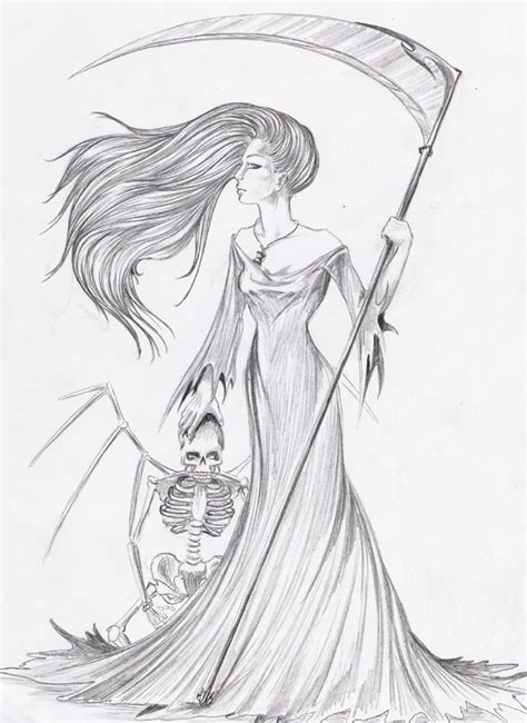 me the grim reaper s sister by mia 017 on deviantart