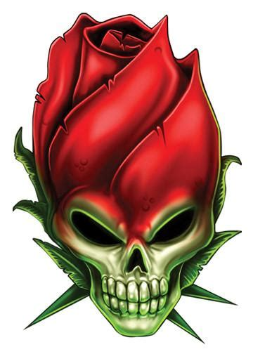 rose skulls temporary tattoo tatt me temporary tattoos
