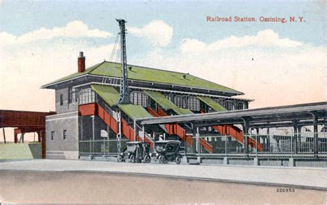 Ossining Post Office by Postcards From Westchester County New York