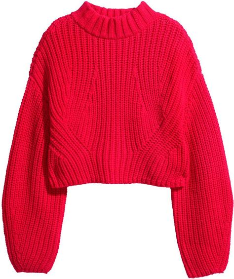 Sweater Out Here chucky cropped sweater for this fall great color check out more photos here