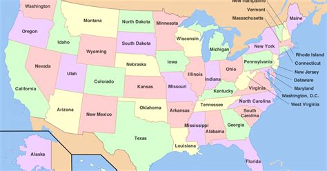 map of usa showing state borders u s states bordering the most other states worldatlas