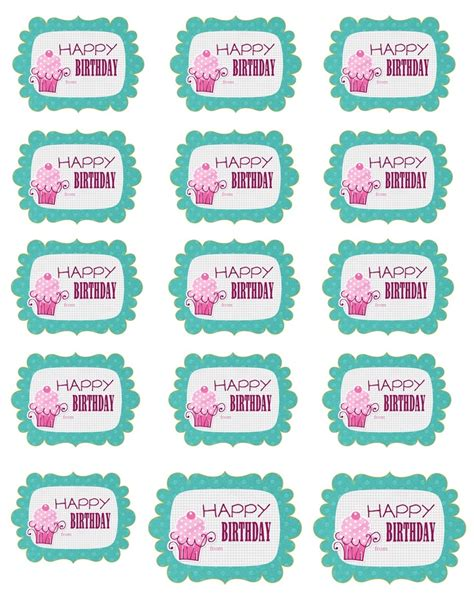 printable stickers for birthday 131 best birthday printables images on pinterest