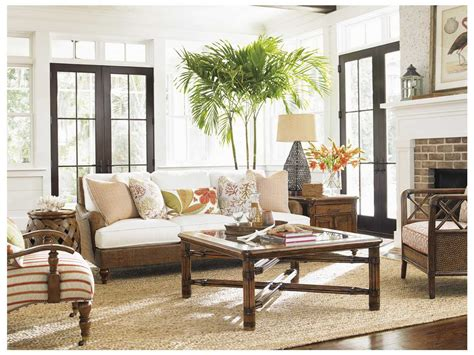 tommy bahama living room tommy bahama bali hai living room set 177433 947set