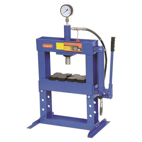 shop bench press shop press 10 tonne shop presses 4 kincrome