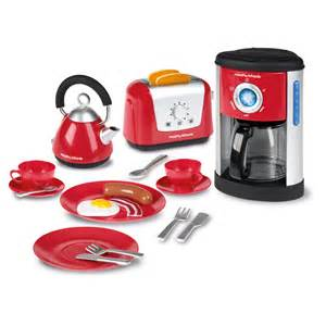 casdon play morphy richards kitchen set play