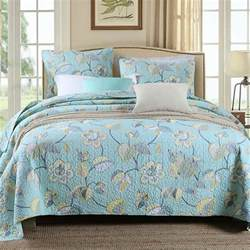 Quilted Bedspread Sets 100 Cotton Bedspreads Floral Soft Quilted Bedspread