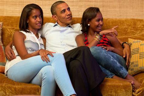 a look back at malia and sasha obama s first daughter