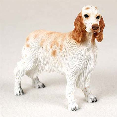english setter dog statues english setter gifts merchandise figurines collectibles